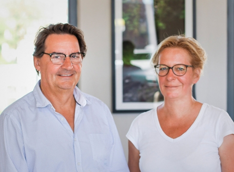Claudia Richardt und Frank Basten